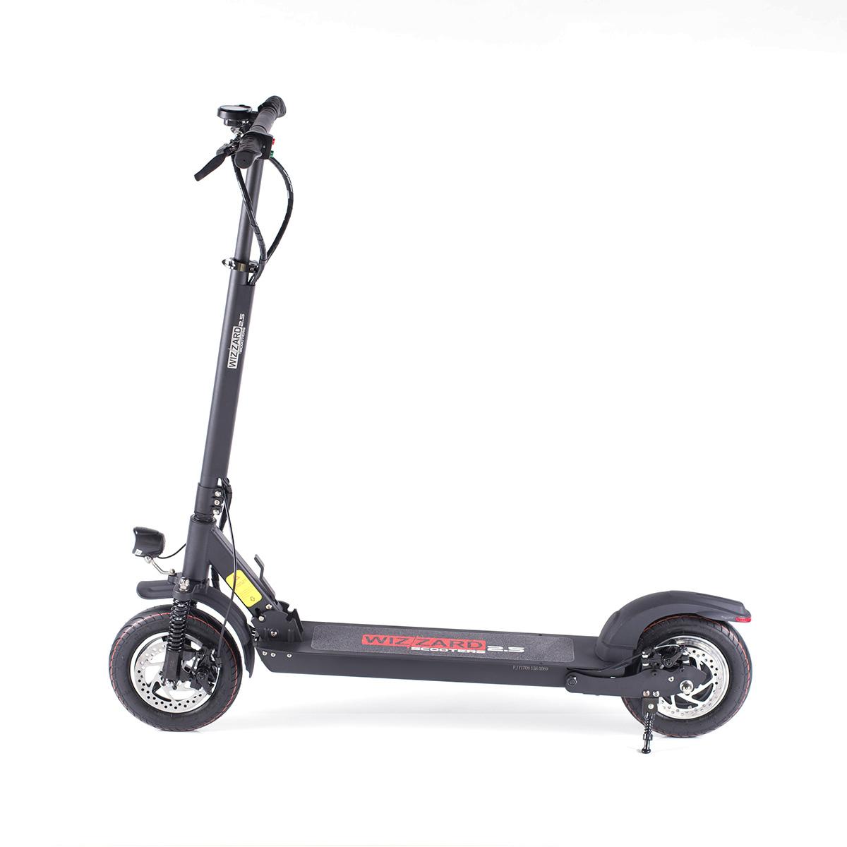 elektro city scooter elektroroller wizzard 2 5 schnellste e scootermonowheel hersteller f r. Black Bedroom Furniture Sets. Home Design Ideas